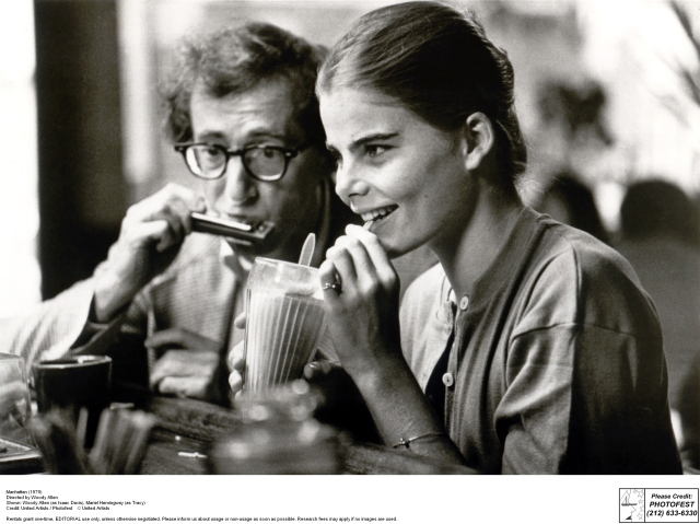 Manhattan (1979) Directed by Woody Allen Shown: Woody Allen (as Isaac Davis), Mariel Hemingway (as Tracy)