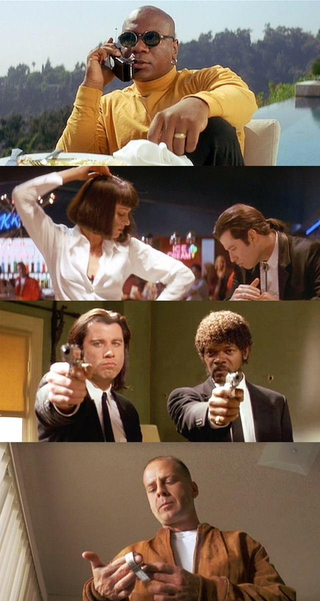 Pulp Fiction - Montage