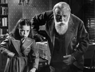 Miracle on 34th Street (1947) Directed by George Seaton Shown: Natalie Wood (as Susan Walker), Edmund Gwenn (as Kris Kringle)